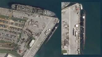 網路假圖太多 美核潛艇撞擊事故後首張衛星照片曝光