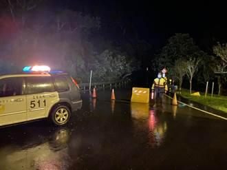 聯外道路土石坍方 宜蘭清水地熱明起休園3天