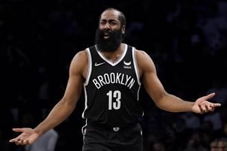 NBA》籃網主帥替哈登喊冤:犯規新制對他不公平