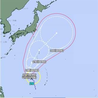 第20號颱風「瑪瑙」生成 氣象局曝對台影響