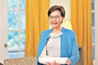 香港特首林鄭月娥上周跌倒骨折 今恢復處理特首公務