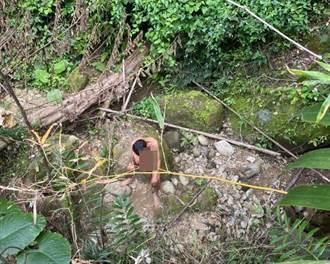 半百男太平山區展開赤裸原始生活  累壞警消搜救