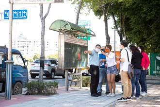 土城中央路人行道狹窄難行 議員江怡臻要求市府全力改善