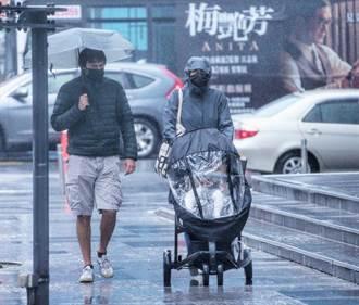 瑪瑙明轉中颱 下波冷空氣驟降7度 降雨增多時間曝