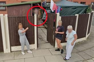 Google地图整块肉色入镜 豪迈女故意走光给拍