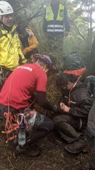 合歡山3085峰意外 2山友墜50公尺深谷獲救