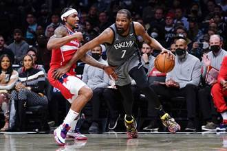 NBA》籃網痛宰巫師 摘下本季主場首勝