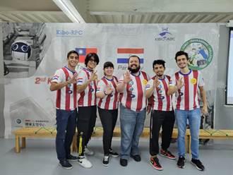 第二屆Kibo機器人 巴拉圭留學生組台灣隊獲第三名佳績