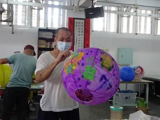 多元課程引導興趣 南二監收容人為普濟燈會彩繪燈籠