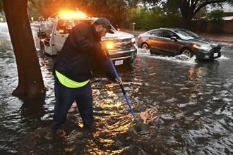 炸彈氣旋襲加州降雨創紀錄 近40萬人斷電
