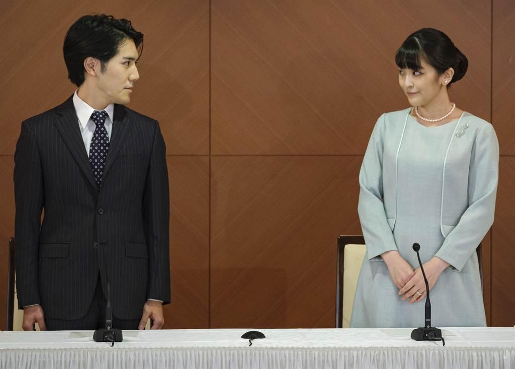 日本真子公主結婚坦承壓力大 夫妻記者會不停道歉
