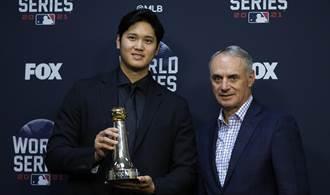 MLB》聯盟主席欽點 大谷翔平獲史上第16座歷史成就獎