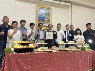 全台第1家校園獲「台灣米標章」 中華醫大樂推米料理