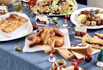 耶誕餐現預購省480元 耶誕多肉手作送禮、裝飾超療癒