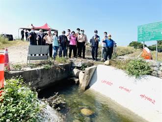 后里大甲溪高灘地農田 農委會允設永久引水道