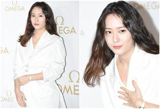 Krystal鄭秀晶「壯碩身形」出席活動!網驚:哪來的大...